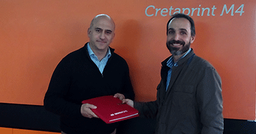 "Emilio estrelles joins the panel debate ""ceramic company managers and the international scenario"""